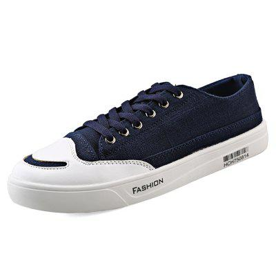 Fashion Denim Casual Skateboarding Shoes for WomenWomens Sneakers<br>Fashion Denim Casual Skateboarding Shoes for Women<br><br>Closure Type: Lace-Up<br>Contents: 1 x Pair of Shoes<br>Materials: TPR, Denim<br>Outsole Material: TPR<br>Package Size ( L x W x H ): 33.00 x 22.00 x 11.00 cm / 12.99 x 8.66 x 4.33 inches<br>Package Weights: 0.77kg<br>Seasons: Autumn,Spring,Summer<br>Style: Casual<br>Type: Skateboarding Shoes