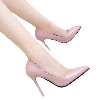 Fashion Pointed Toe High Heel StilettosWomens Pumps<br>Fashion Pointed Toe High Heel Stilettos<br><br>Closure Type: Slip-On<br>Contents: 1 x Pair of Stilettos<br>Materials: PU, Rubber<br>Occasion: Party, Dress, Dancing<br>Outsole Material: Rubber<br>Package Size ( L x W x H ): 25.00 x 18.00 x 11.00 cm / 9.84 x 7.09 x 4.33 inches<br>Package Weights: 0.67kg<br>Seasons: Autumn,Spring,Summer<br>Type: Pumps<br>Upper Material: PU