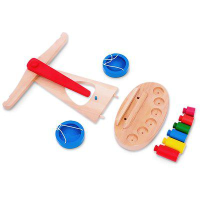 Early Development Sources Science Toys Balance ScaleOther Educational Toys<br>Early Development Sources Science Toys Balance Scale<br><br>Age: 3 Years+<br>Applicable gender: Unisex<br>Design Style: Other<br>Features: Others<br>Material: Wood<br>Package Contents: 1 x Balance Scale<br>Package size (L x W x H): 24.50 x 23.50 x 10.50 cm / 9.65 x 9.25 x 4.13 inches<br>Package weight: 0.7700 kg<br>Product size (L x W x H): 24.00 x 17.00 x 22.00 cm / 9.45 x 6.69 x 8.66 inches<br>Product weight: 0.6500 kg<br>Small Parts : Yes<br>Type: Intelligence toys<br>Washing: No