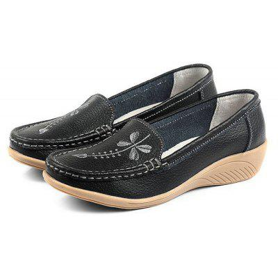 Handcrafted Genuine Leather Casual Shoes for Women