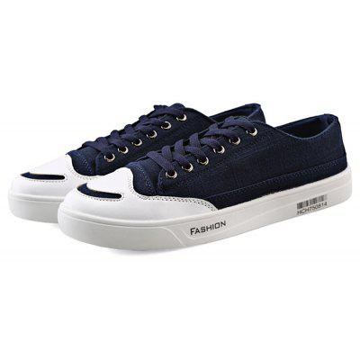 Buy BLUE 38 Fashion Denim Casual Skateboarding Shoes for Women for $26.30 in GearBest store