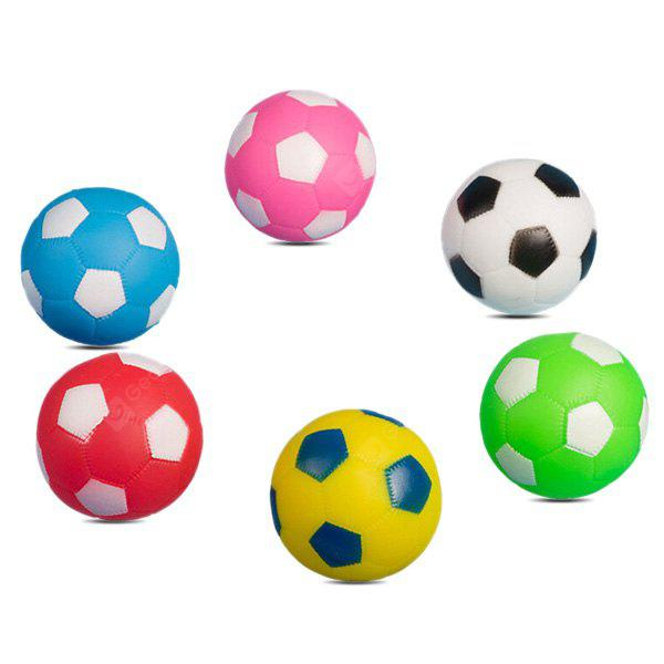 6pcs Pretty Squeeze Stretchy Bath Toy of Miniature Football
