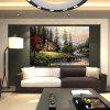 Buy 1PC Thomas Landscape Printed Canvas Wall Sticker COLORMIX