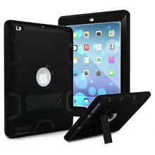 "Armor Kickstand Silicone Tablet Case for <span class=""es_hl_color"">iPad</span> <span class=""es_hl_color"">mini</span> 1 / 2 / 3"