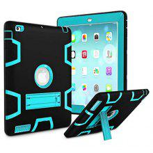 "Armor Kickstand Holder Silicone Tablet Case for <span class=""es_hl_color"">iPad</span> <span class=""es_hl_color"">mini</span> 4"