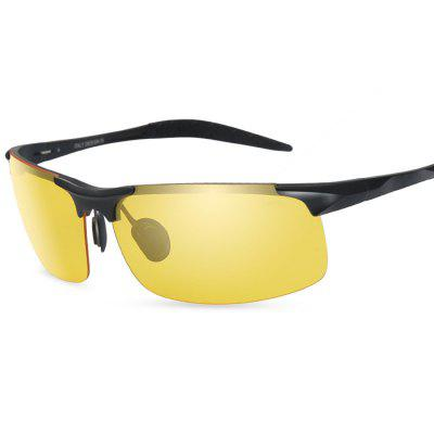 8177 Night Vision Half-frame Polarized Lens Cycling GlassesCycling Sunglasses<br>8177 Night Vision Half-frame Polarized Lens Cycling Glasses<br><br>Features: Anti-UV, Night Vision, Polarized lens<br>Gender: Men<br>Package Contents: 1 x Glasses, 1 x Box<br>Package Size(L x W x H): 17.00 x 9.00 x 8.00 cm / 6.69 x 3.54 x 3.15 inches<br>Package weight: 0.1420 kg<br>Product Size(L x W x H): 14.90 x 4.00 x 5.50 cm / 5.87 x 1.57 x 2.17 inches<br>Product weight: 0.0240 kg<br>Suitable for: Hiking, Camping, Cycling, Mountaineering, Traveling<br>Type: Goggle
