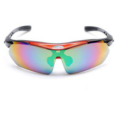 Leadbike A0089 Protective Unisex PC Lens Cycling Glasses