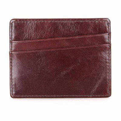 Leather Simple Card Holder