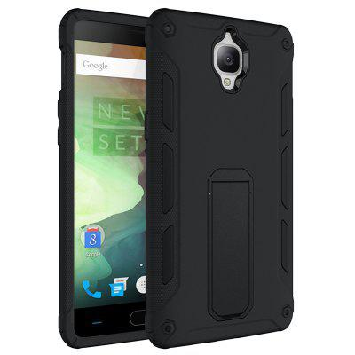 Luanke Two-in-one Protective Back Case with Stand Function for OnePlus 3