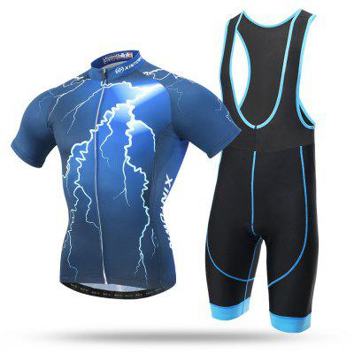 XINTOWN Short Sleeves Cycling Suit