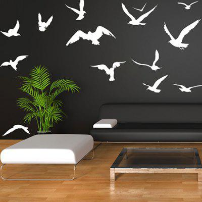 Creative Bird Design DIY Wall Sticker