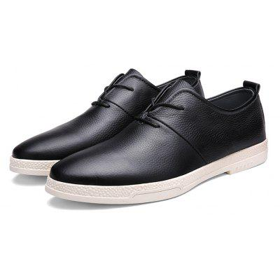 Masculino Casual Slip Resistance Stitching Oxford Shoes