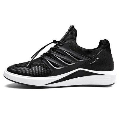 Slip Resistance Breathable Mesh Running Sneakers  for MenMen's Sneakers<br>Slip Resistance Breathable Mesh Running Sneakers  for Men<br><br>Closure Type: Lace-Up<br>Contents: 1 x Pair of Shoes<br>Decoration: Weave<br>Function: Slip Resistant<br>Materials: Woven Fabric, Rubber<br>Occasion: Sports, Daily, Outdoor Clothing, Running<br>Outsole Material: Rubber<br>Package Size ( L x W x H ): 33.00 x 24.00 x 13.00 cm / 12.99 x 9.45 x 5.12 inches<br>Package Weights: 0.83kg<br>Pattern Type: Solid<br>Seasons: Autumn,Spring,Summer<br>Style: Leisure, Comfortable, Casual<br>Toe Shape: Round Toe<br>Type: Sports Shoes<br>Upper Material: Mesh,Woven Fabric