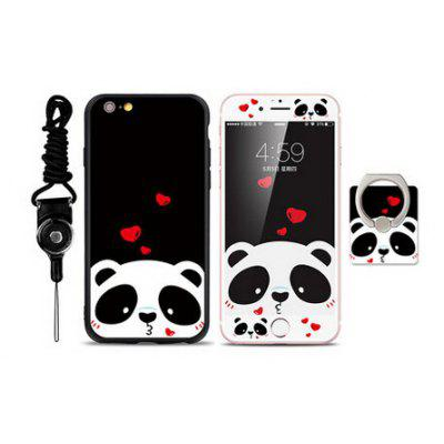 Protective Women Panda Case for iPhone 6 Plus / 6S Plus