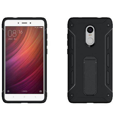 Luanke 2 in 1 Mobile Bracket Cover for Xiaomi Redmi Note 4XCases &amp; Leather<br>Luanke 2 in 1 Mobile Bracket Cover for Xiaomi Redmi Note 4X<br><br>Brand: Luanke<br>Compatible Model: Redmi Note 4X<br>Features: Back Cover, Cases with Stand<br>Mainly Compatible with: Xiaomi<br>Material: TPU, PC<br>Package Contents: 1 x Case<br>Package size (L x W x H): 21.00 x 13.00 x 1.80 cm / 8.27 x 5.12 x 0.71 inches<br>Package weight: 0.0672 kg<br>Product Size(L x W x H): 15.60 x 8.38 x 1.22 cm / 6.14 x 3.3 x 0.48 inches<br>Product weight: 0.0542 kg