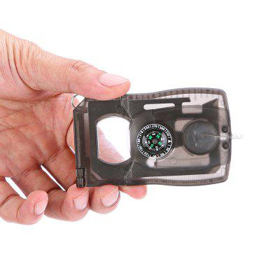 Card Style Multifunctional EDC Tool Compass / Magnifier / LEDMultitools<br>Card Style Multifunctional EDC Tool Compass / Magnifier / LED<br><br>For: Daily Use<br>Package Contents: 1 x Multifunctional EDC Tool<br>Package size (L x W x H): 9.00 x 6.00 x 1.50 cm / 3.54 x 2.36 x 0.59 inches<br>Package weight: 0.0700 kg<br>Product size (L x W x H): 8.60 x 5.50 x 1.00 cm / 3.39 x 2.17 x 0.39 inches<br>Product weight: 0.0450 kg<br>Type: Multitools