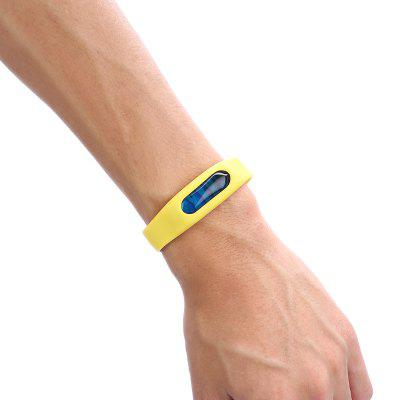 Soft Silicone Band Mosquito Repellent Wristband BraceletOther Sports Gadgets<br>Soft Silicone Band Mosquito Repellent Wristband Bracelet<br><br>Package Contents: 1 x Mosquito Repellent Wristband<br>Package Dimension: 17.00 x 12.00 x 2.50 cm / 6.69 x 4.72 x 0.98 inches<br>Package weight: 0.0500 kg<br>Product Dimension: 23.50 x 1.80 x 1.00 cm / 9.25 x 0.71 x 0.39 inches<br>Product weight: 0.0120 kg