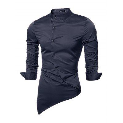 Fashionable Classical Long Sleeve ShirtMens Shirts<br>Fashionable Classical Long Sleeve Shirt<br><br>Material: Cotton<br>Package Contents: 1 x Men Shirt<br>Package size: 35.00 x 25.00 x 2.00 cm / 13.78 x 9.84 x 0.79 inches<br>Package weight: 0.2900 kg<br>Product weight: 0.2500 kg