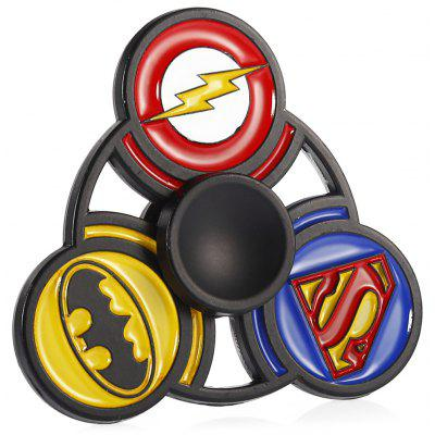 3-in-1 Animation Style Alloy Fidget Tri-spinner
