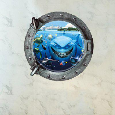 Creative Underwater World Wall Sticker Wallpaper