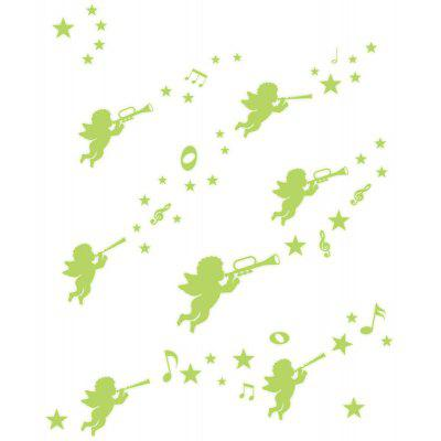 Creative Lovely Elf Fluorescence Wall Sticker Wallpaper