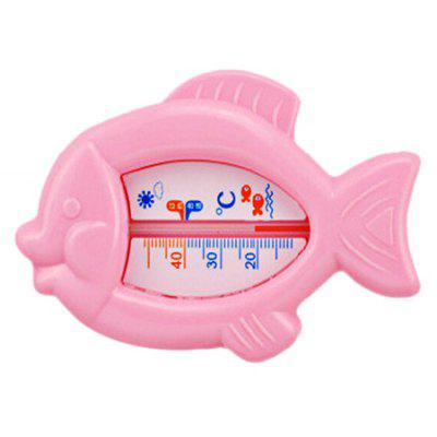 Buy RED Baby Bath Cartoon Fish Shape Water Thermometer Toy for $2.43 in GearBest store