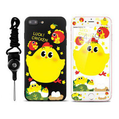 Protective Silicone Chicken Case for iPhone 7 Plus
