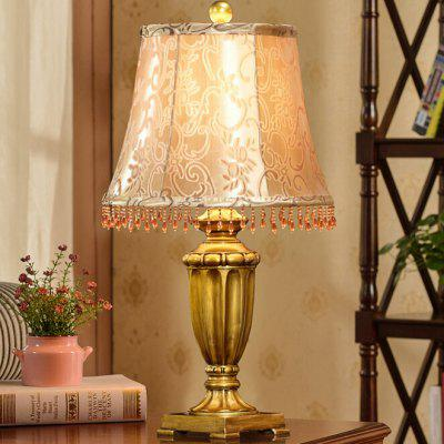 American Exquisite Retro Style LED Table Lamp 220V