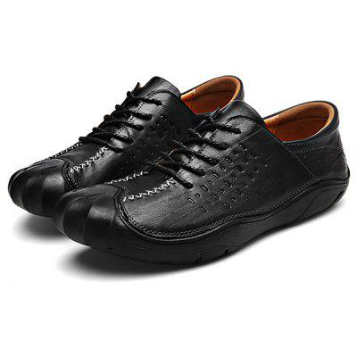 Breathable Slip Resistance Lace Up Oxford Shoes for Men