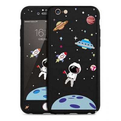 Astronaut Image Simple Style Full Cover Case for iPhone 6 / 6S