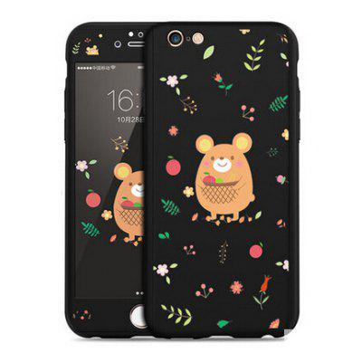 Small Bear Image Cute Style Full Cover Case for iPhone 6 / 6S