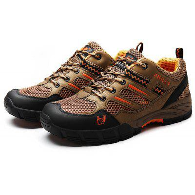 ZHJLUT Male Slip Resistance Lace Up Outdoor Athletic Shoes