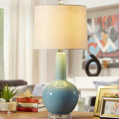 Creative Post-modern Ceramic Style Table Lamp 220VTable Lamps<br>Creative Post-modern Ceramic Style Table Lamp 220V<br><br>Available Color: White<br>Features: USB Charging Port<br>Material: Alloy, Fabric<br>Package Contents: 1 x Light, 1 x Assembly Parts<br>Package size (L x W x H): 43.00 x 43.00 x 70.00 cm / 16.93 x 16.93 x 27.56 inches<br>Package weight: 4.0200 kg<br>Powered Source: USB<br>Product size (L x W x H): 33.00 x 33.00 x 66.00 cm / 12.99 x 12.99 x 25.98 inches<br>Product weight: 3.5000 kg<br>Suitable for: Home Decoration, Home use