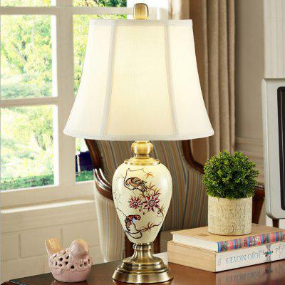 Creative Modern Simple Ceramic Table Lamp 220VTable Lamps<br>Creative Modern Simple Ceramic Table Lamp 220V<br><br>Available Color: Beige<br>Features: USB Charging Port<br>Material: Alloy, Fabric<br>Package Contents: 1 x Light, 1 x Assembly Parts<br>Package size (L x W x H): 40.00 x 40.00 x 60.00 cm / 15.75 x 15.75 x 23.62 inches<br>Package weight: 3.5200 kg<br>Powered Source: USB<br>Product size (L x W x H): 30.00 x 30.00 x 55.00 cm / 11.81 x 11.81 x 21.65 inches<br>Product weight: 3.0000 kg<br>Suitable for: Home Decoration, Home use