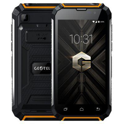 Buy BLACK AND ORANGE GEOTEL G1 3G Smartphone for $102.80 in GearBest store