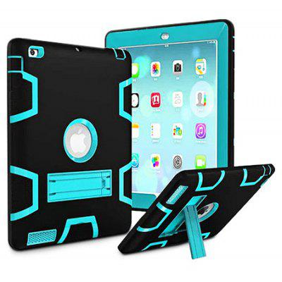 Armor Kickstand Holder Silicone Tablet Case para iPad 2/3/4