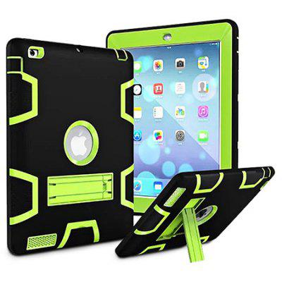 Armor Kickstand Holder Silicone Tablet Case para iPad Air