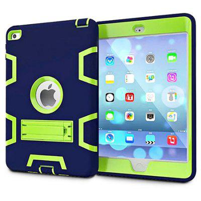 Armor Kickstand PC Silicone Cover Tablet Case Protector Shell for iPad mini 1 / 2 / 3