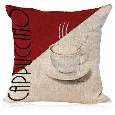 Cotton Linen Pillow Cover Retro Throw Pillowcase