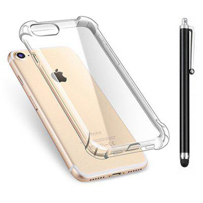 SZKINSTON Anti-drop TPU Phone Case Touch Pen for iPhone 7