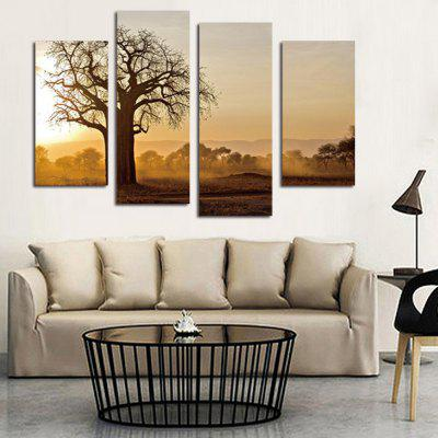 4PCS Poetic Dead Tree Printed Canvas Wall StickerWall Stickers<br>4PCS Poetic Dead Tree Printed Canvas Wall Sticker<br><br>Art Style: Oil Paiting<br>Functions: Decorative Wall Stickers<br>Hang In/Stick On: Bedrooms,Cafes,Hotels,Living Rooms,Offices<br>Material: Canvas<br>Package Contents: 4 x Poetic Dead Tree Printed Canvas Wall Sticker<br>Package size (L x W x H): 42.00 x 6.00 x 6.00 cm / 16.54 x 2.36 x 2.36 inches<br>Package weight: 0.3800 kg<br>Product size (L x W x H): 120.00 x 80.00 x 0.10 cm / 47.24 x 31.5 x 0.04 inches<br>Product Type: Art Print<br>Product weight: 0.3400 kg<br>Subjects: Landscape