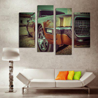 4PCS Retro Car Printed Canvas Wall StickerWall Stickers<br>4PCS Retro Car Printed Canvas Wall Sticker<br><br>Art Style: Oil Paiting<br>Functions: Decorative Wall Stickers<br>Hang In/Stick On: Bedrooms,Cafes,Hotels,Living Rooms,Offices,Stair<br>Material: Canvas<br>Package Contents: 4 x Retro Car Printed Canvas Wall Sticker<br>Package size (L x W x H): 42.00 x 6.00 x 6.00 cm / 16.54 x 2.36 x 2.36 inches<br>Package weight: 0.4000 kg<br>Product size (L x W x H): 120.00 x 80.00 x 0.10 cm / 47.24 x 31.5 x 0.04 inches<br>Product Type: Art Print<br>Product weight: 0.3400 kg<br>Subjects: Still Life