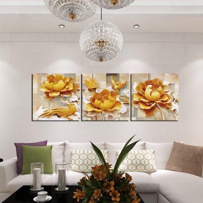 3PCS Canary Flower Carvings Printed Canvas Wall StickerWall Stickers<br>3PCS Canary Flower Carvings Printed Canvas Wall Sticker<br><br>Art Style: Oil Paiting<br>Functions: Decorative Wall Stickers<br>Hang In/Stick On: Bedrooms,Cafes,Hotels,Living Rooms,Offices<br>Material: Canvas<br>Package Contents: 3 x Canary Flower Carvings Printed Canvas Wall Sticker<br>Package size (L x W x H): 52.00 x 5.00 x 5.00 cm / 20.47 x 1.97 x 1.97 inches<br>Package weight: 0.2600 kg<br>Product size (L x W x H): 120.00 x 40.00 x 0.10 cm / 47.24 x 15.75 x 0.04 inches<br>Product weight: 0.2100 kg<br>Subjects: Botanical