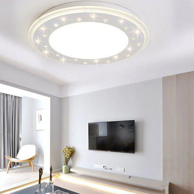 European Style Crystal  LED Ceiling Light 220VFlush Ceiling Lights<br>European Style Crystal  LED Ceiling Light 220V<br><br>Illumination Field: 12 - 24sqm<br>Luminous Flux: 2000lm<br>Package Contents: 1 x Ceiling Light, 1 x Remote Controller<br>Package size (L x W x H): 52.00 x 52.00 x 16.50 cm / 20.47 x 20.47 x 6.5 inches<br>Package weight: 5.5200 kg<br>Product size (L x W x H): 42.00 x 42.00 x 6.50 cm / 16.54 x 16.54 x 2.56 inches<br>Product weight: 4.5000 kg<br>Sheathing Material: Iron, Acrylic<br>Type: Ceiling Lights<br>Voltage (V): 220V<br>Wattage (W): 24<br>Wavelength / CCT: 3000K,4000K,6500K