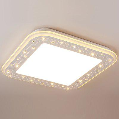 Buy WHITE European Style Crystal LED Ceiling Light 220V for $132.69 in GearBest store