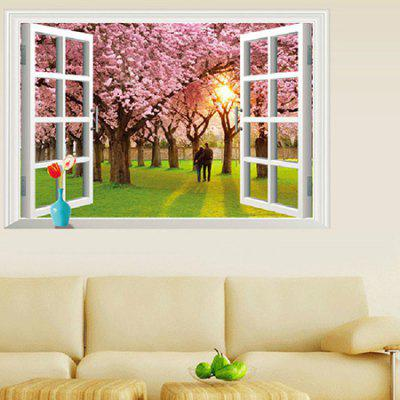 Romantic Sunset Cherry Tree Decorative Wall StickerWall Stickers<br>Romantic Sunset Cherry Tree Decorative Wall Sticker<br><br>Functions: Decorative Wall Stickers<br>Hang In/Stick On: Bathroom,Bedrooms,Living Rooms<br>Material: Vinyl(PVC)<br>Package Contents: 1 x Wall Sticker<br>Package size (L x W x H): 60.00 x 5.00 x 5.00 cm / 23.62 x 1.97 x 1.97 inches<br>Package weight: 0.1900 kg<br>Product size (L x W x H): 90.00 x 60.00 x 0.20 cm / 35.43 x 23.62 x 0.08 inches<br>Product weight: 0.1500 kg<br>Subjects: Landscape