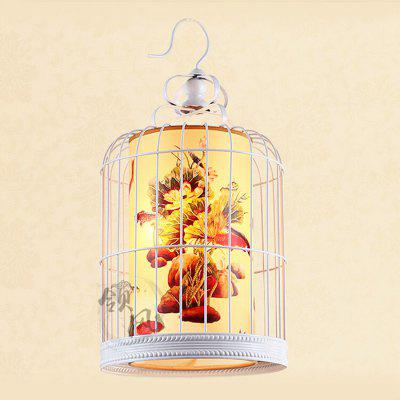 Chinese Bird Cage Retro Iron Pendant Light 220VPendant Light<br>Chinese Bird Cage Retro Iron Pendant Light 220V<br><br>Battery Included: No<br>Bulb Base: E27<br>Bulb Included: No<br>Chain / Cord Adjustable or Not: Chain / Cord Adjustable<br>Chain / Cord Length ( CM ): 50cm<br>Features: Eye Protection<br>Fixture Height ( CM ): 52cm<br>Fixture Length ( CM ): 25cm<br>Fixture Width ( CM ): 25cm<br>Light Direction: Downlight<br>Number of Bulb: 1 Bulb<br>Number of Bulb Sockets: 1<br>Package Contents: 1 x Light, 1 x Assembly Parts<br>Package size (L x W x H): 35.00 x 35.00 x 62.00 cm / 13.78 x 13.78 x 24.41 inches<br>Package weight: 4.0300 kg<br>Product weight: 3.0000 kg<br>Remote Control Supported: No<br>Shade Material: Iron<br>Style: Modern/Contemporary<br>Suggested Room Size: 10 - 15?<br>Suggested Space Fit: Bedroom,Dining Room,Kitchen,Living Room,Study Room<br>Type: Pendant Light<br>Voltage ( V ): AC220