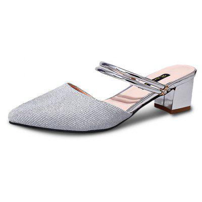 Sexy Pointed Toe Women Slippers