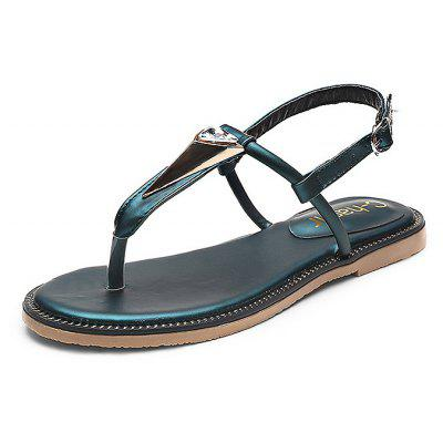 Comfortable Clip Toe Women Flat Sandals
