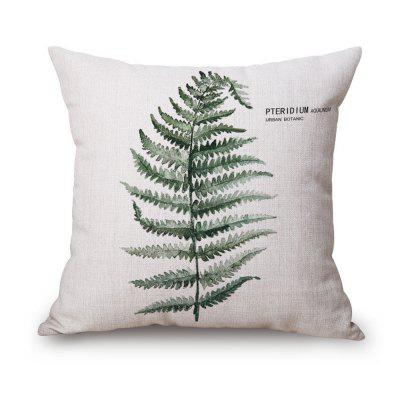Set of Four Green Plants PillowcasePillow<br>Set of Four Green Plants Pillowcase<br><br>Category: Pillow Case<br>For: All<br>Material: Cotton Linen<br>Occasion: Bedroom<br>Package Contents: 4 x Pillow Case<br>Package size (L x W x H): 40.00 x 30.00 x 5.00 cm / 15.75 x 11.81 x 1.97 inches<br>Package weight: 0.4500 kg<br>Product weight: 0.4000 kg<br>Type: Comfortable, Leisure